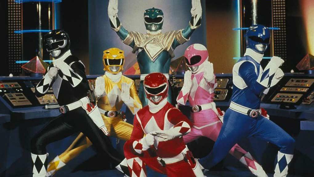 Power Rangers : Mighty Morphin Power Rangers (1993)
