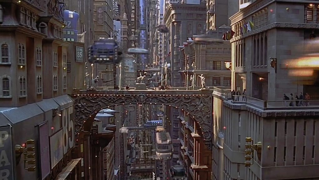 """New York au XXIIIe siècle dans """"Le Cinquième élément"""" (1997)"""