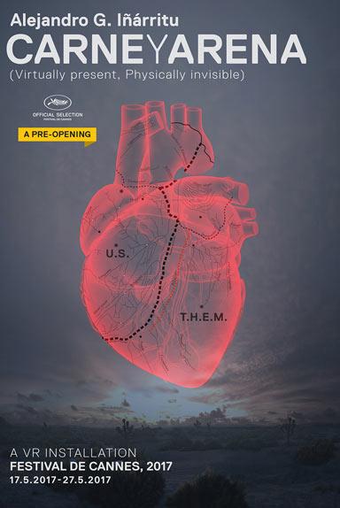 """L'affiche de """"Carne Y Arena"""" d'Alejandro González Iñárritu"""