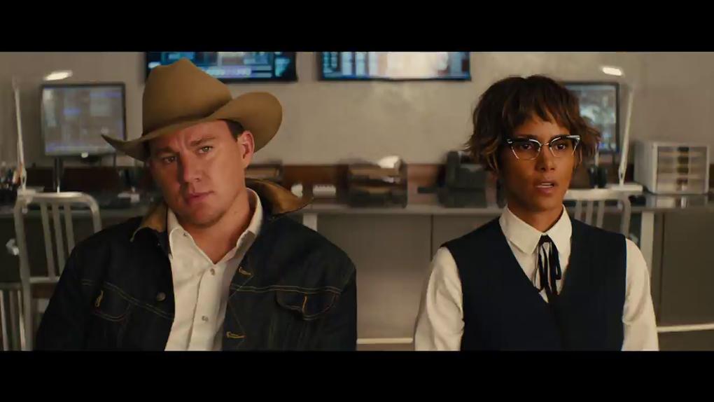 L'Agent Tequila et sa supérieure Ginger (Halle Berry)