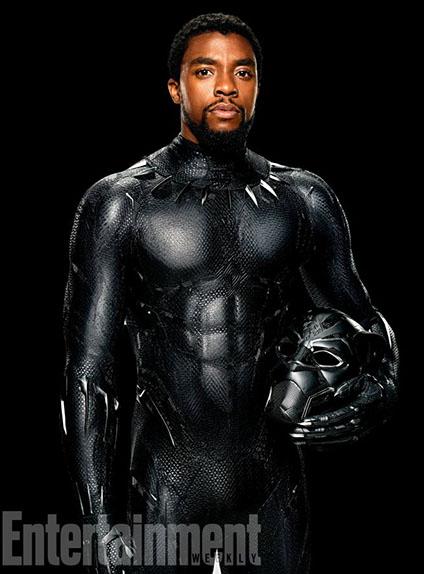 Chadwick Boseman est T'Challa / Black Panther