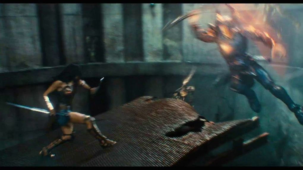 Wonder Woman vs Steppenwolf : round 1