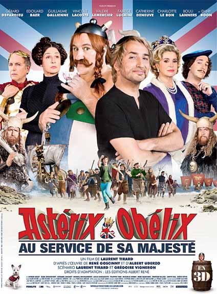 N° 7 - Astérix et Obélix : au service de Sa Majesté