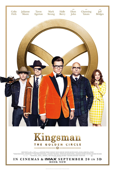 Kingsman : le casting réuni sur l'affiche du Cercle d'Or