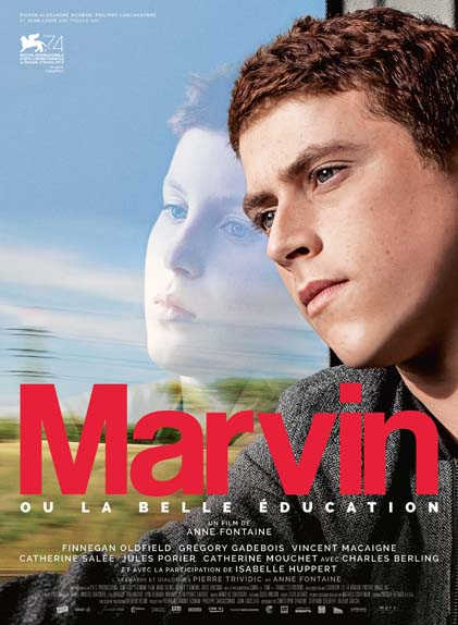 """Marvin ou la belle éducation"" avec Finnegan Oldfield, Isabelle Huppert, Grégory Gadebois ..."