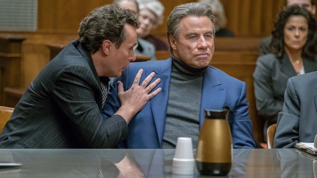 """The Life and death of John Gotti"" avec John Travolta, Anthony Hopkins, Kelly Preston ..."
