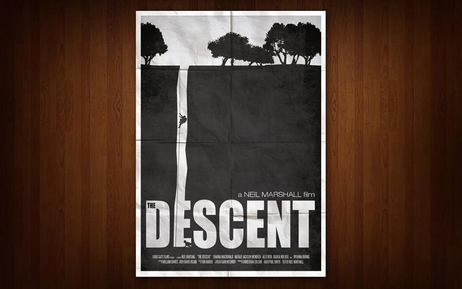the Descent - Affiche réalisée par Ryan Black