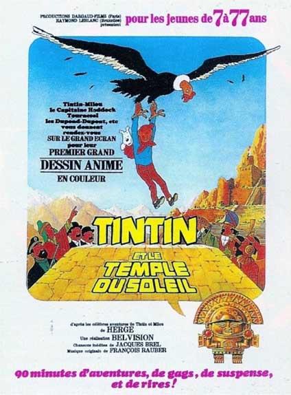 1969 - Tintin et le Temple du soleil