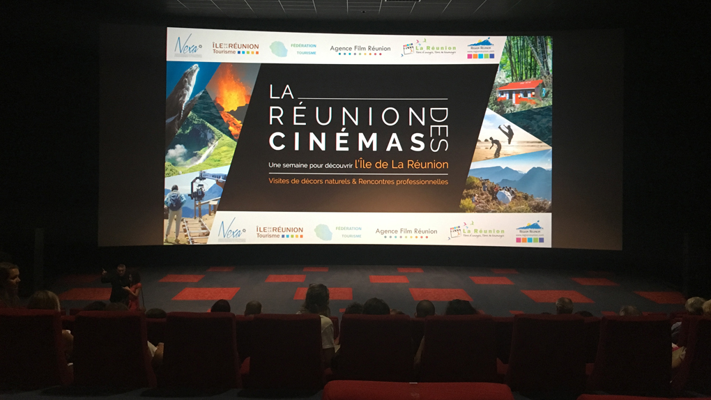 Le cinéma à La Réunion, La Réunion au cinéma