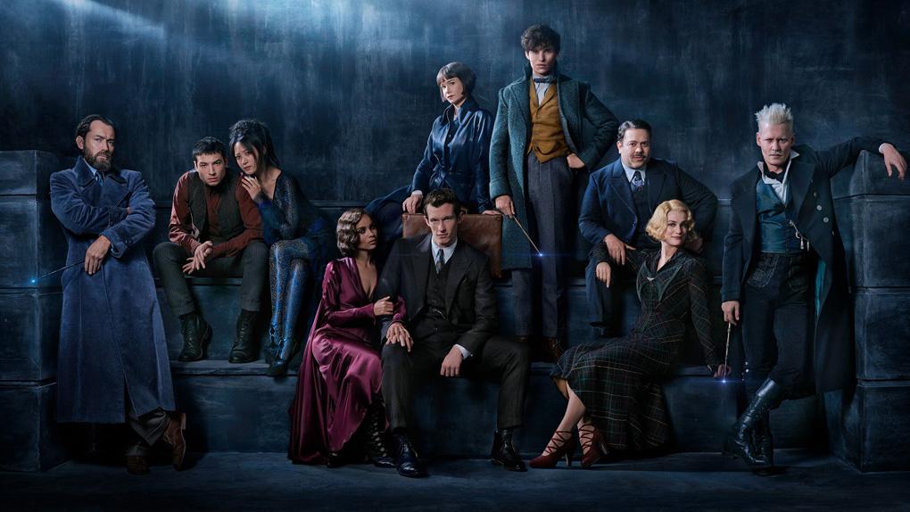 Les Animaux fantastiques : Les crimes de Grindelwald de David Yates avec Johnny Depp, Ezra Miller, Katherine Waterston...