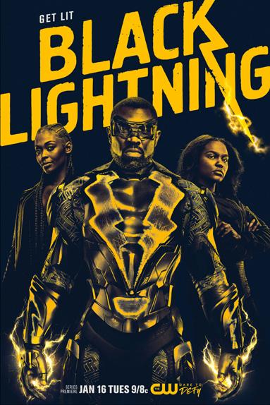 Black Lightning électrise la nouvelle affiche