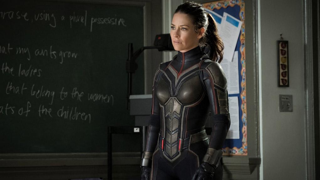 Evangeline Lilly incarne Hope Van Dyne alias la Guêpe dans Ant-Man