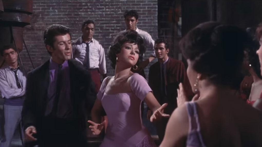 Elle a joué Anita dans West Side Story