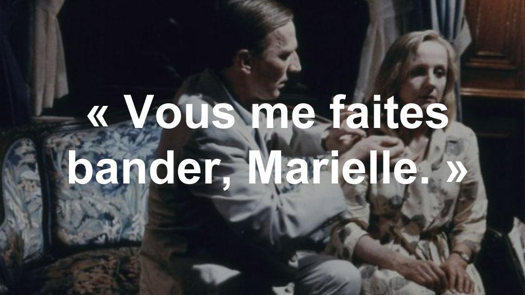 """""""Vous me faites bander, Marielle"""" (Jean Le Quesnoy)"""