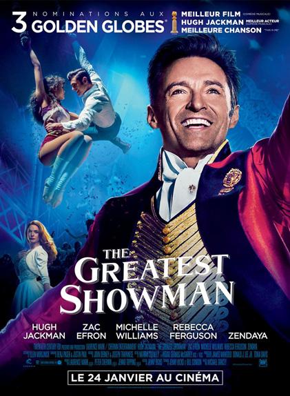 °4 - The Greatest Showman : 7,8 millions de dollars de recettes