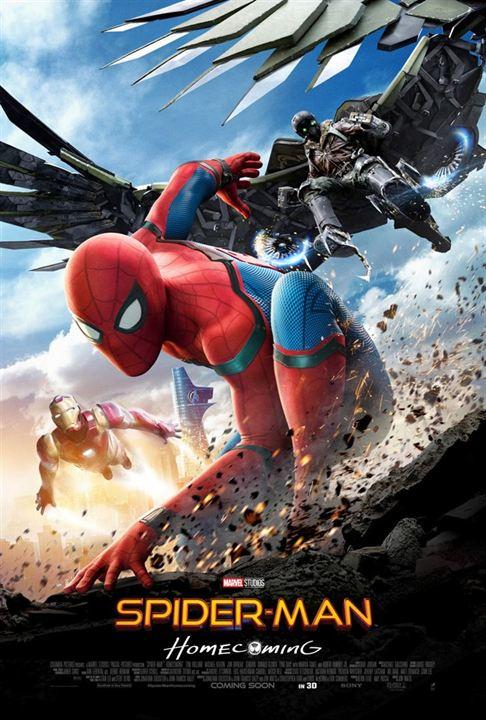 #15 - Spider-Man : Homecoming (2017)