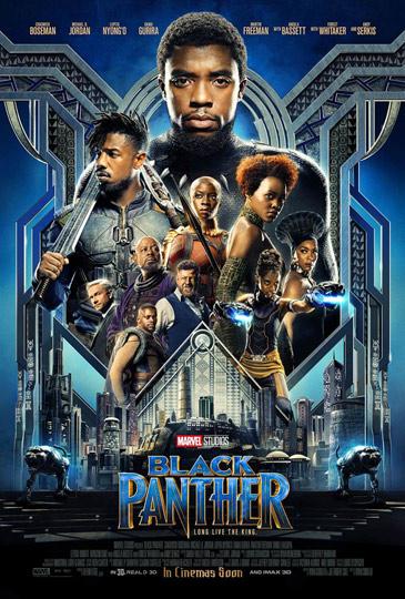 N°1 - Black Panther : 1 058 869 entrées