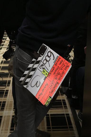 L'indispensable clap de tournage
