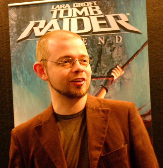 Toby Gard, le Graphic Designer de Lara Croft