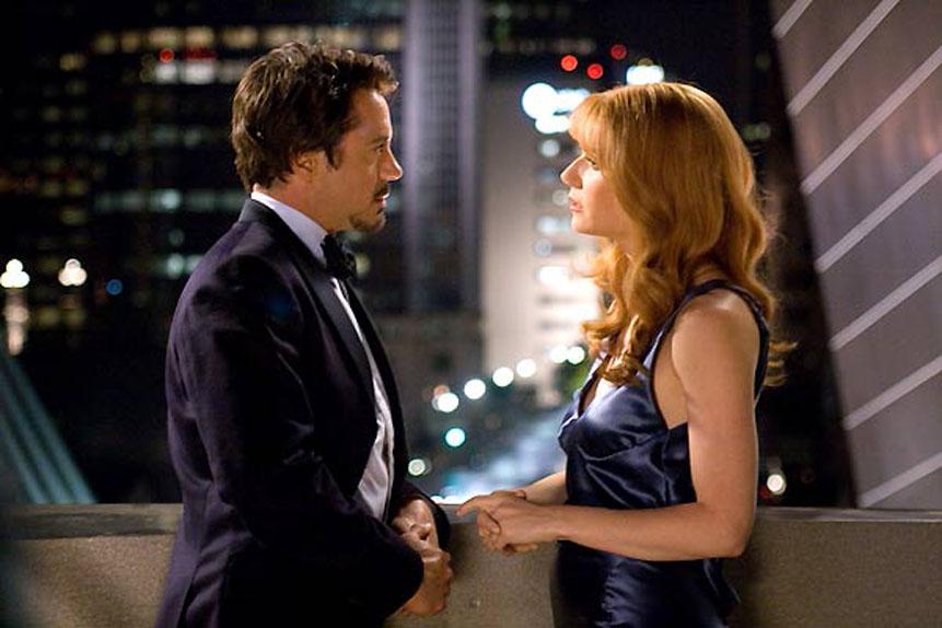La plus piquante : Gwyneth Paltrow aka Pepper Potts dans Iron Man 1