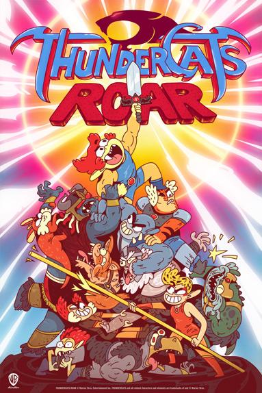 "Le poster de ""ThunderCats Roar"""