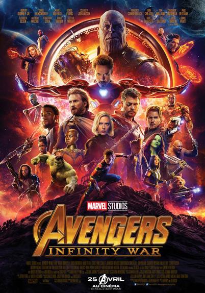 N°5 - Avengers Infinity War : 6,83 millions de dollars de recettes