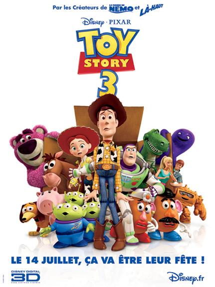 N°5 - Toy Story 3 : 110,3 millions de dollars de recettes