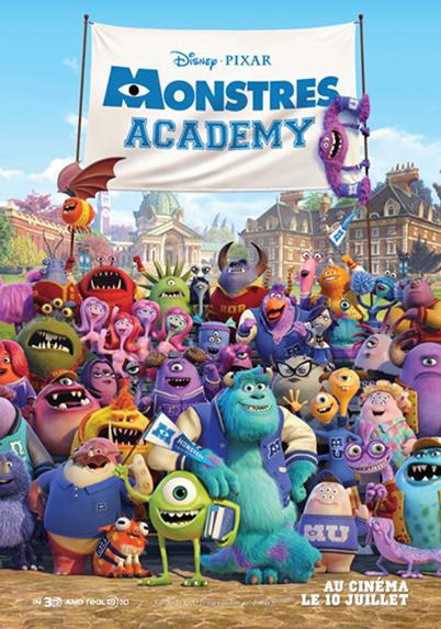 N°10- Monstres Academy 82,4 millions de dollars de recettes