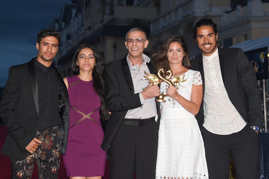 Abdellatif Kechiche et son équipe, Swann d'or du Meilleur Film pour Mektoub my love