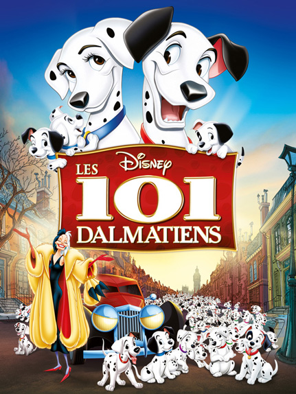 N°3 - Les 101 Dalmatiens : 14 688 700 entrées