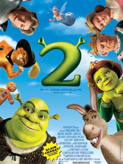 N°17 - Shrek 2 : 7 142 430 entrées