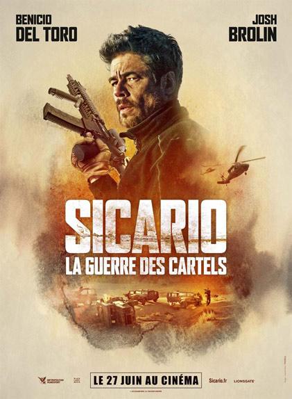 N°5 - Sicario La Guerre des Cartels : 139 134 entrées
