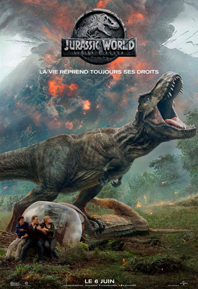 N°5 - Jurassic World Fallen Kingdom : 15,51 millions de dollars de recettes