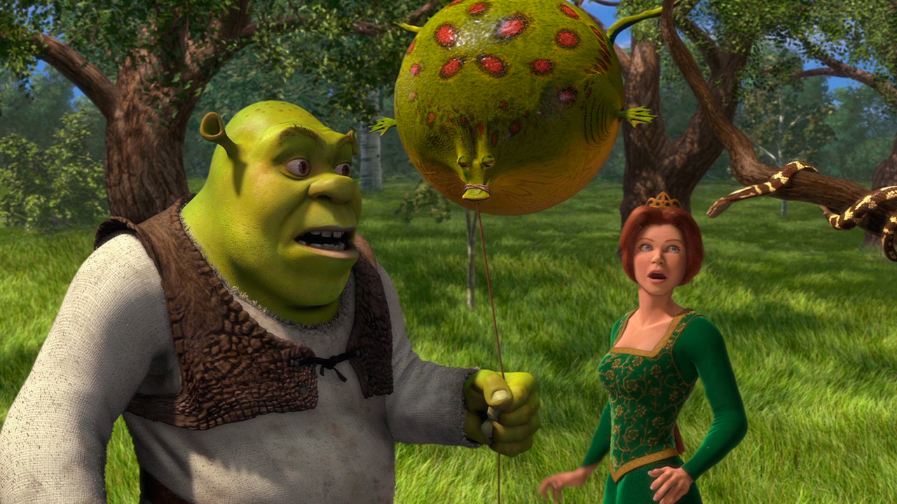 2001 - Shrek : 4 042 865 entrées
