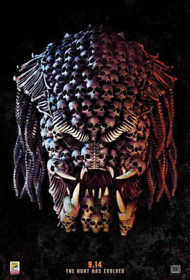 The Predator de Shane Black avec Boyd Holbrook, Sterling K. Brown, Olivia Munn...