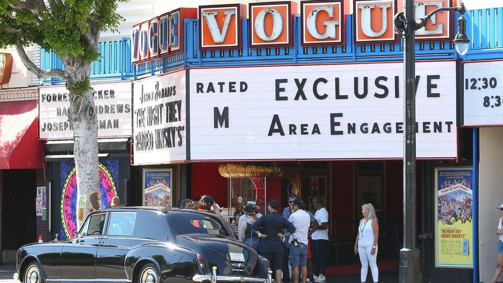 Un décor où le cinéma a toujours sa place