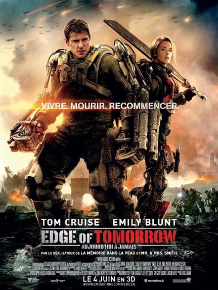 #10  -Edge of Tomorrow (2014) : 370,5 millions de dollars dans le monde