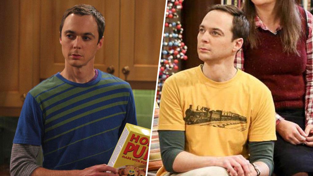 Sheldon saison 1 vs. Sheldon saison 12