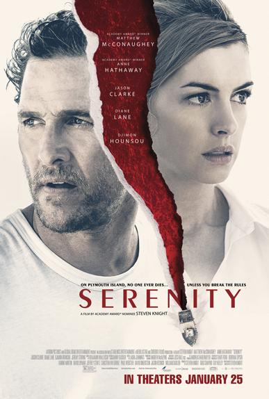Serenity avec Matthew McConaughey, Anne Hathaway...