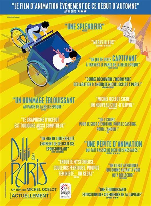 N°5 - Dilili à Paris : 134 356 entrées