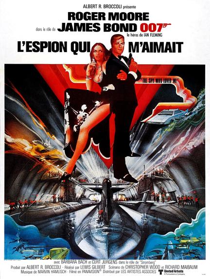 #8 - L'ESPION QUI M'AIMAIT (1977) : 3,5/5