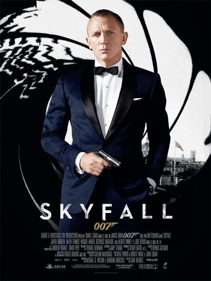 #1 - SKYFALL (2012) : 4,1/5