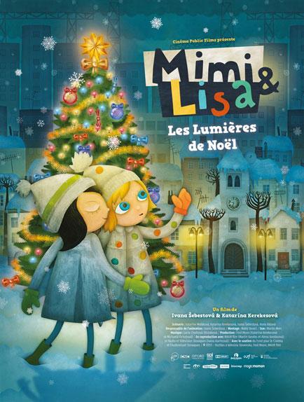 Mimi & Lisa, les lumières de Noël - A partir de 4 ans