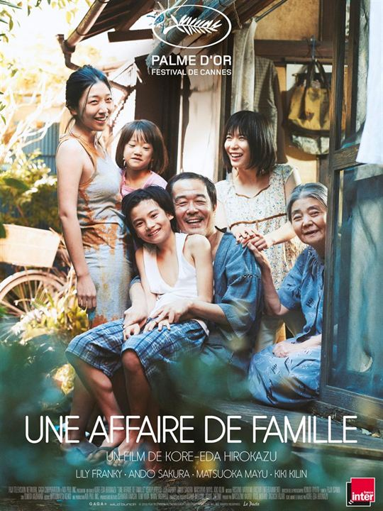 UNE AFFAIRE DE FAMILLE - 1 nomination