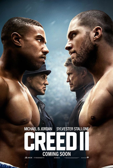 N°3 - Creed II : 10,32 millions de dollars de recettes