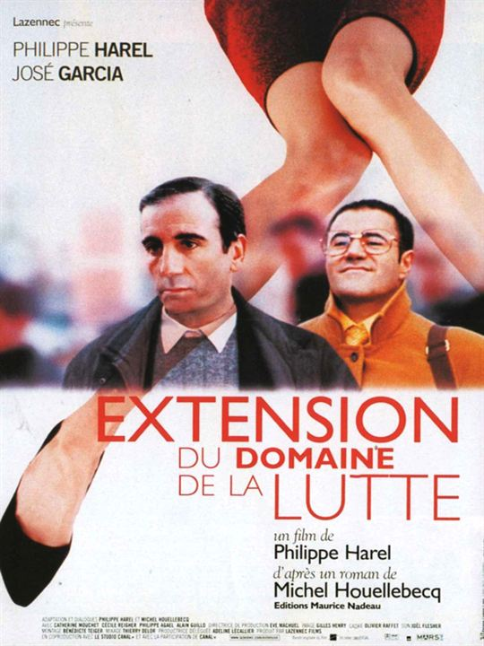 Adapté au cinéma avec Extension du domaine de la lutte (1999)