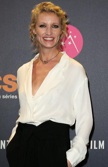 Alexandra Lamy, présidente du jury
