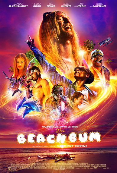 The Beach Bum avec Matthew McConaughey, Isla Fisher...