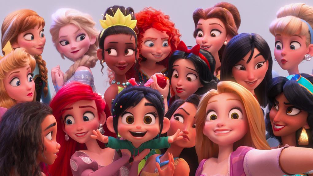 Ralph 20 12 Personnages Disney Qui Se Cachent Dans Le Film Allociné