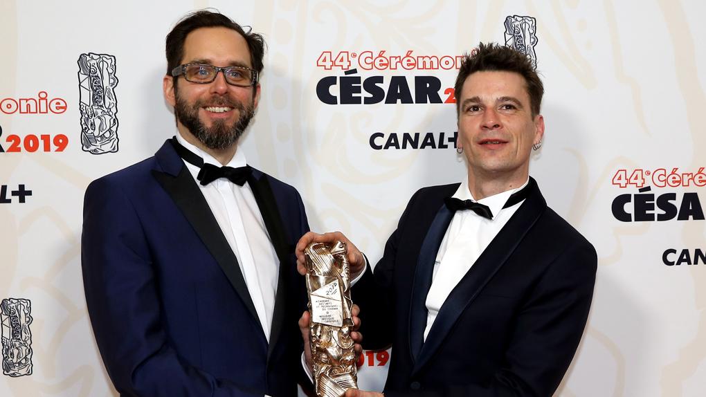 Vincent Blanchard et Romain greffe, César de la meilleure musique originale pour Guy